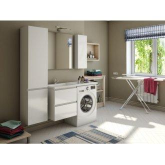 Мебель под стиральную машину Эстет Даллас 130 подвесная два ящика купить в Москве по доступной цене - San-Room
