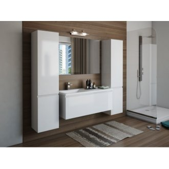 Мебель для ванной Эстет Даллас 130 купить в Москве по доступной цене - San-Room