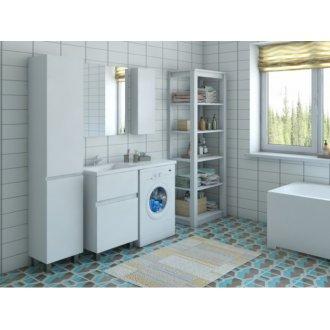 Мебель под стиральную машину Эстет Даллас 100 напольная два ящика купить в Москве по доступной цене - San-Room