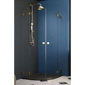 Душевой угол Radaway Essenza Pro Gold PDD 90x90 см