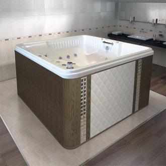 Гидромассажный бассейн Радомир Цезарь Комфорт 189x174 белый купить в Москве по доступной цене - San-Room
