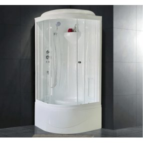 Душевая кабина Royal Bath RB90BK1-T 90x90